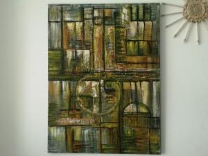 OTOÑAL. Acrilico sobre lienzo 80x60 cm. Artista: Salome V.A.
